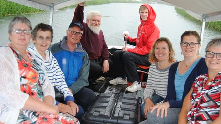 Relatives of the late Nat Bircham, skipper in 1934 of The Ella, the last wherry to sail the North Wa