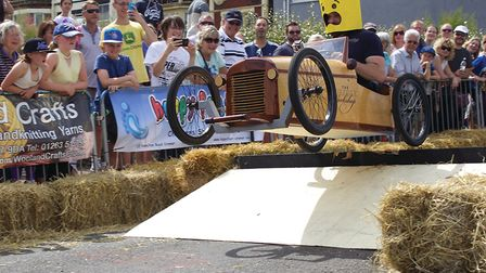 The Cromer Soapbox Derby. Picture: Bruce Stratton