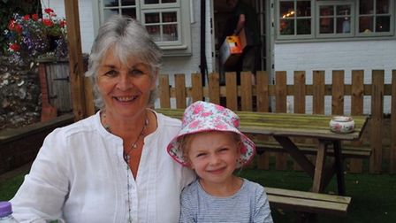 Diana Reynolds with her granddaughter Tilly-Sue. Picture: Diana Reynolds