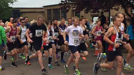 The race starts. Pictures: David Bale