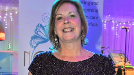 Norfolk Care Awards 2015, Sally Mills from Halsey House.Picture by SIMON FINLAY.