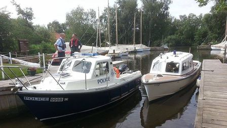Officers from the Broads Beat team. Picture: submitted