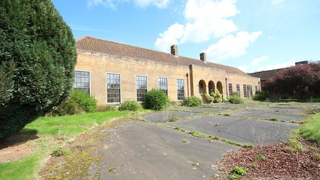 The former RAF Coltishall officers' mess, which will be sold at auction on July 17Photo: SIMON RIGGA