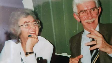 Roy and Audrey Haynes. Pictures: supplied by Gordon Haynes
