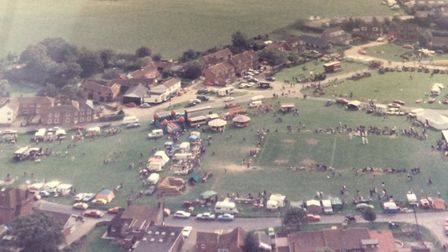 Aldborough fayre from about 1984. Pictures: David Bale.