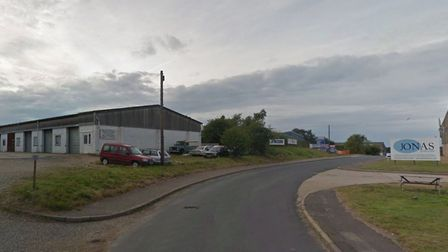 General view of of Stonehill Way industrial estate, Cromer. Photo: Google
