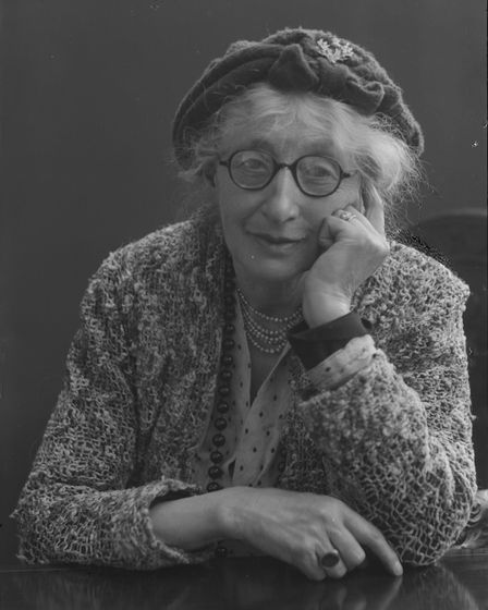 Photograph taken by Cyril Nunn of Olive Edis, whose work is on show at Sheringham MuseumPhoto: submi