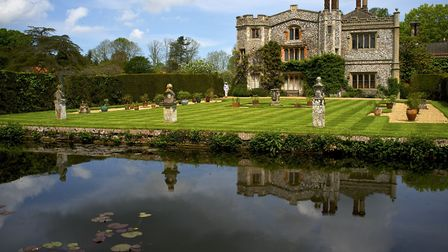 Mannington Hall, where Sheringham and Cromer Choral Society members held a garden party to celebrate