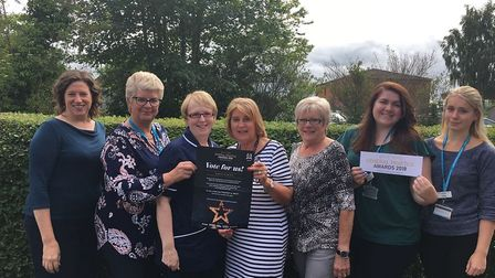 Staff at the Ludham and Stalham Green Surgeries have been nominated for a People's Choice Award. Pho