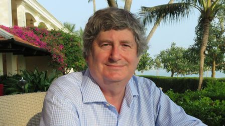Chris Tookey, author of The Football Manager Murders, lives in north Norfolk. Photo: Chris Tookey