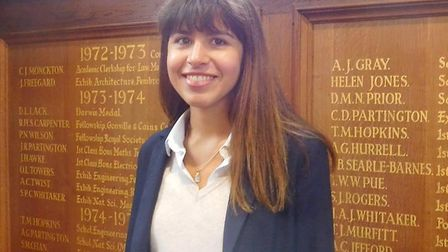 Lora Naydenova scored 43 points to take up place at University of Cambridge. Pictures: Gresham's sch