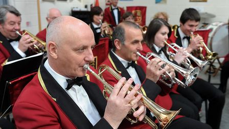 Fakenham Town Band help raise money for Help for Heroes in 2013. Picture: Matthew Usher.
