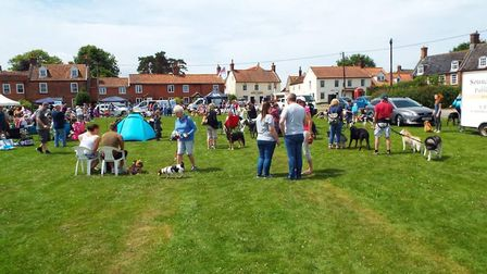 Aldborough fayre. Pictures: supplied by Hannah Warren