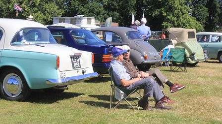 Classic cars on show at North Walsham Fun DayPhoto: KAREN BETHELL