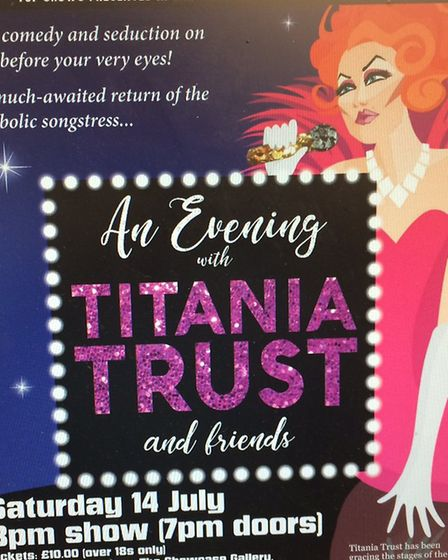 Poster for Titania Trust. Picture: David Bale