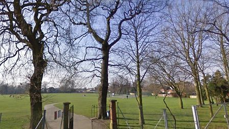 North Walsham Memorial Park. Picture: GOOGLE STREETVIEW