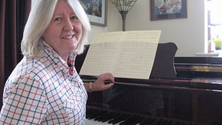 Composer Sarah Rodgers. Picture: SUPPLIED BY NORTH NORFOLK DISTRICT COUNCIL