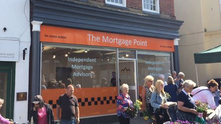 The Mortgage Point opens in North Walsham on Monday. Pictures: David Bale
