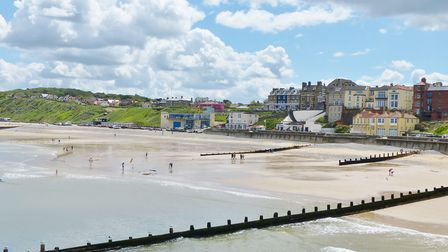 View from Cromer Pier. Photo: Lesley Buckley