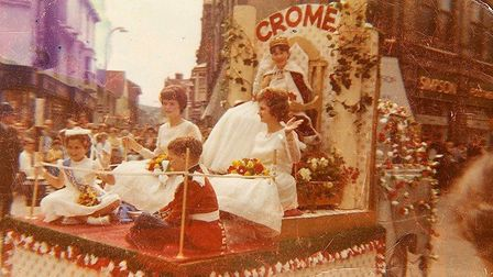 The royal float in 1962Photo: Margaret Durrant