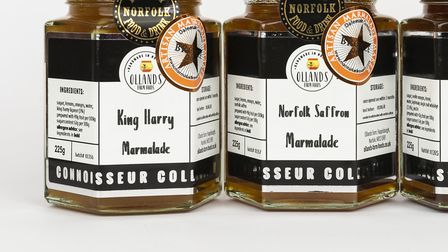 Ollands' new Connoisseur Collection and some of the other award-winning marmalades sporting the new
