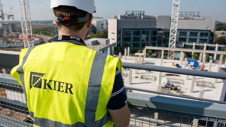 Construction, property and environmental services group Kier has reported a rise in revenues. Pictur
