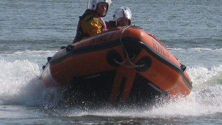 The Wells lifeboat. Photo: Wells Lifeboat Day, RNLI
