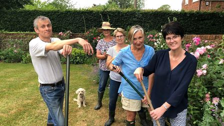 The village of Lammas is getting ready for its open gardens event. Picture: COURTESY OF TIM CURTIS