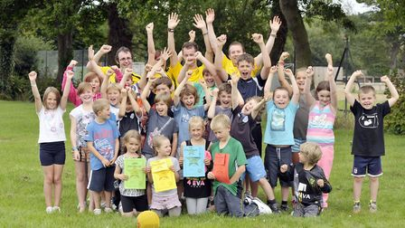 Teams will be taking part in children's actvities during the summer break. Pictures: NNDC