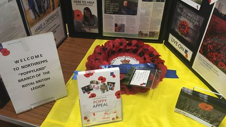 The Royal British Legion stand at Armed Forces Day. Photo: Jessica Frank-Keyes