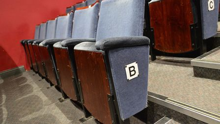 The seats to be replaced. Pictures: Richard Batson