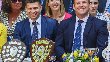 Tom and Ben Youngs, Prep School Speech Day. Picture: Chris Taylor Photography