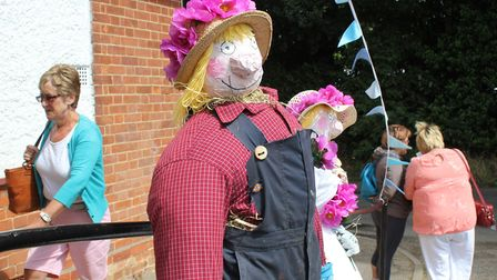 A scene from last year's Trunch Scarecrow Festival and Open Gardens Day. Picture: Karen Bethell
