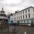 The clock tower in Market Place, North Walsham. Picture: Stuart Anderson