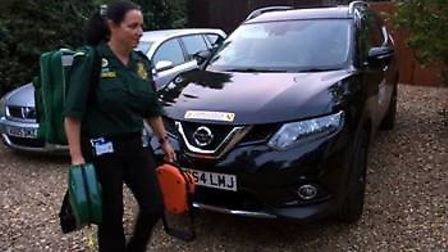 Volunteer Ambulance First Responders - staged publicity photos with permission. Pictures: supplied N