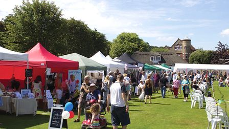 A scene from the Overstrand Village Fair. Picture: ARCHANT LIBRARY
