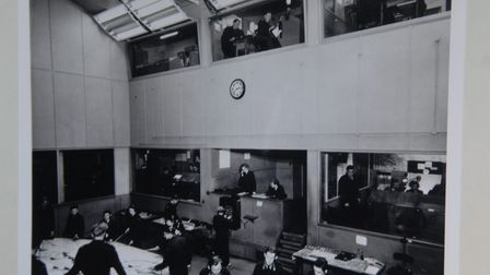 The former operations room at RAF Neatishead. Pic: www.edp24.co.uk