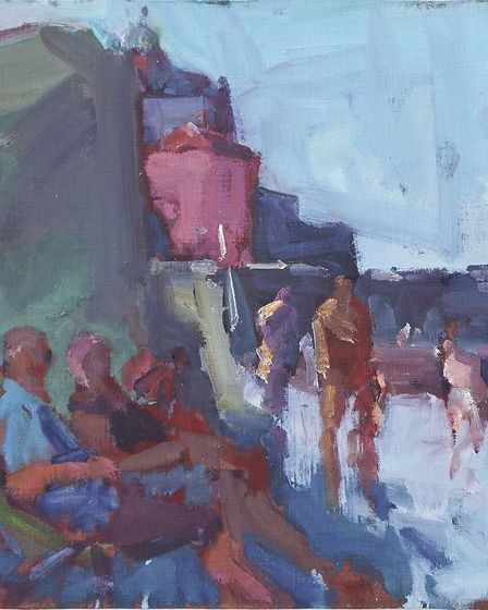 Too Hot, one of the artworks featured in the Coast Arts Spirit of the Artist exhibitionPhoto: Submit