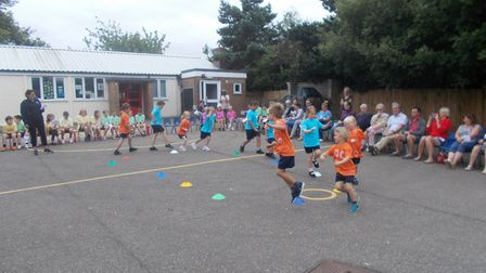 The children also took part in singing and dancing. Photo: Brancaster C of E Primary