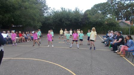 The celebration afternoon was held on Tuesday, July 10. Photo: Brancaster C of E Primary