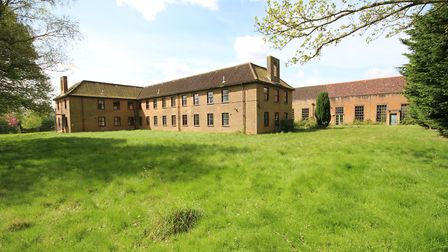 The former RAF Coltishall officers' mess. Photo: SIMON RIGGALL