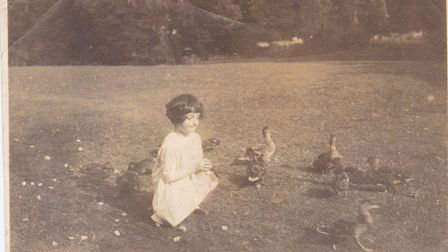 Chloe MacCarthy as a young girl. Pictures: Supplied by family