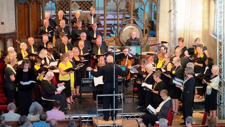 It will be performed at North Walsham Parish Church. Photo: Southrepps Chorale