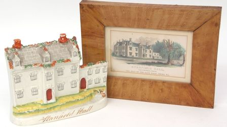 19th century Staffordshire model of Stanfield Hall. Picture: Kim Latimer