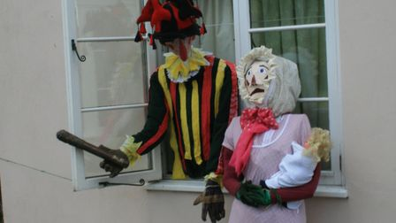The winning entry: Punch and Judy. Photo: Michael Tyler