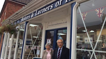 Pictured outside the Bakers and Larners store in Holt last year. Picture: David Bale