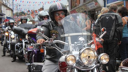 Sheringham Harley Invasion, which will signal the start of the town carnival on Saturday.Photo: KARE