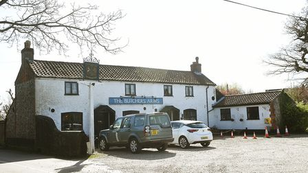 The Butchers Arms, East Ruston. Picture: ANTONY KELLY