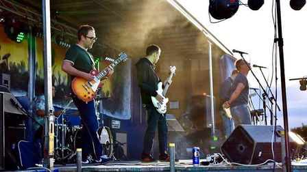 The Stereotypes performing at Rock Bodham. Photo: Rock Bodham