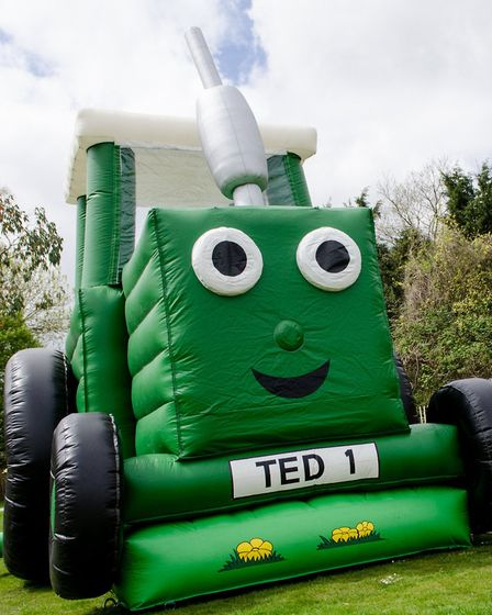Tractor Ted, the UKs favourite little green tractor, rolls into Norfolk next week. Photo: Tractor Te